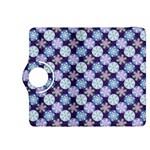 Snowflakes Pattern Kindle Fire HDX 8.9  Flip 360 Case Front