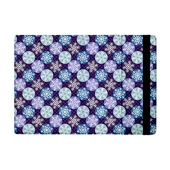 Snowflakes Pattern iPad Mini 2 Flip Cases
