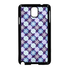 Snowflakes Pattern Samsung Galaxy Note 3 Neo Hardshell Case (black)
