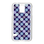 Snowflakes Pattern Samsung Galaxy S5 Case (White) Front