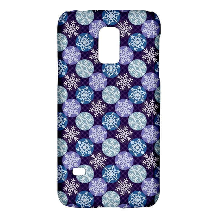 Snowflakes Pattern Galaxy S5 Mini