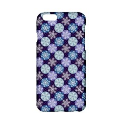 Snowflakes Pattern Apple iPhone 6/6S Hardshell Case