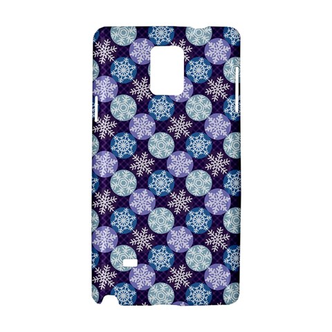 Snowflakes Pattern Samsung Galaxy Note 4 Hardshell Case