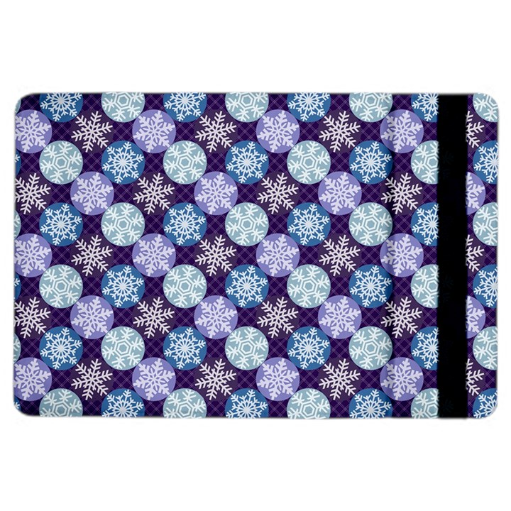 Snowflakes Pattern iPad Air 2 Flip