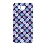 Snowflakes Pattern Samsung Galaxy Alpha Hardshell Back Case Front
