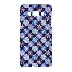 Snowflakes Pattern Samsung Galaxy A5 Hardshell Case