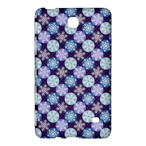 Snowflakes Pattern Samsung Galaxy Tab 4 (7 ) Hardshell Case