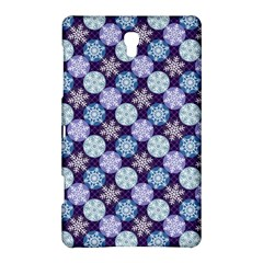Snowflakes Pattern Samsung Galaxy Tab S (8 4 ) Hardshell Case