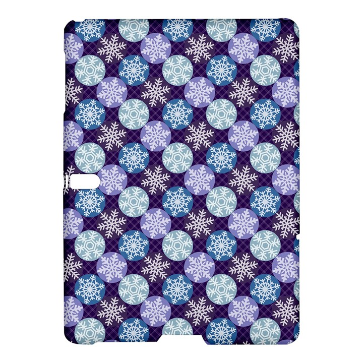 Snowflakes Pattern Samsung Galaxy Tab S (10.5 ) Hardshell Case