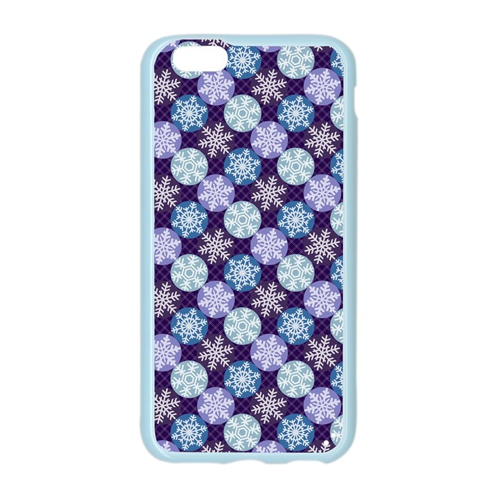 Snowflakes Pattern Apple Seamless iPhone 6/6S Case (Color)