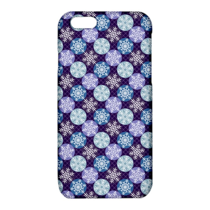 Snowflakes Pattern iPhone 6/6S TPU Case