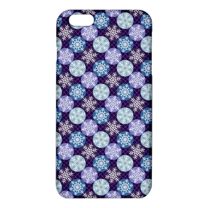 Snowflakes Pattern iPhone 6 Plus/6S Plus TPU Case