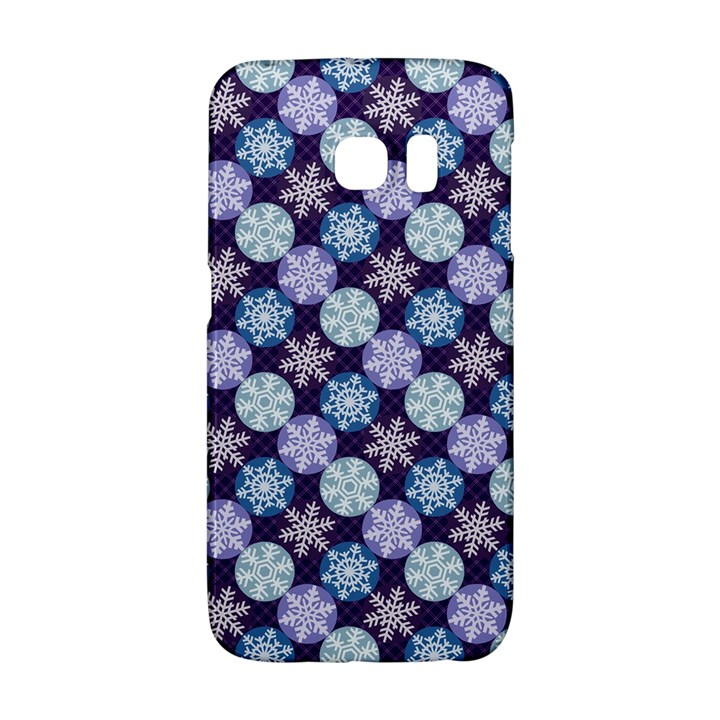 Snowflakes Pattern Galaxy S6 Edge