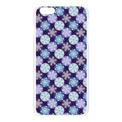 Snowflakes Pattern Apple Seamless iPhone 6 Plus/6S Plus Case (Transparent)