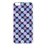 Snowflakes Pattern Apple Seamless iPhone 6 Plus/6S Plus Case (Transparent) Front