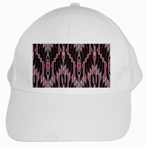 Pearly Pattern  White Cap