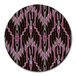 Pearly Pattern  Round Mousepads Front