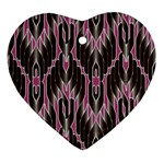Pearly Pattern  Ornament (Heart)  Front