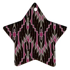 Pearly Pattern  Ornament (Star)