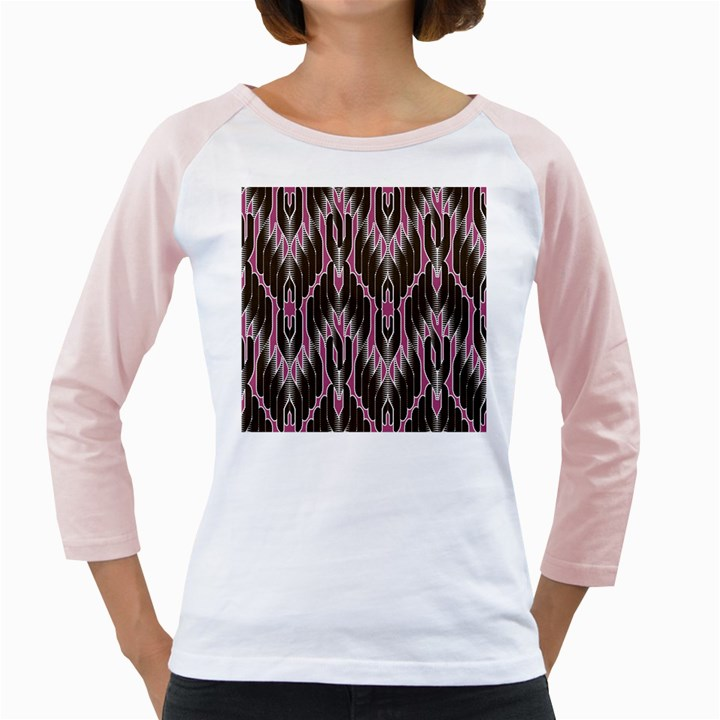 Pearly Pattern  Girly Raglans