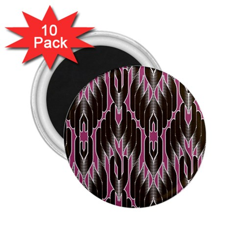 Pearly Pattern  2.25  Magnets (10 pack)