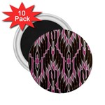 Pearly Pattern  2.25  Magnets (10 pack)  Front