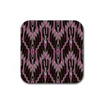 Pearly Pattern  Rubber Coaster (Square)  Front
