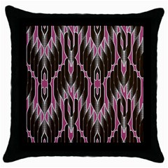 Pearly Pattern  Throw Pillow Case (Black)