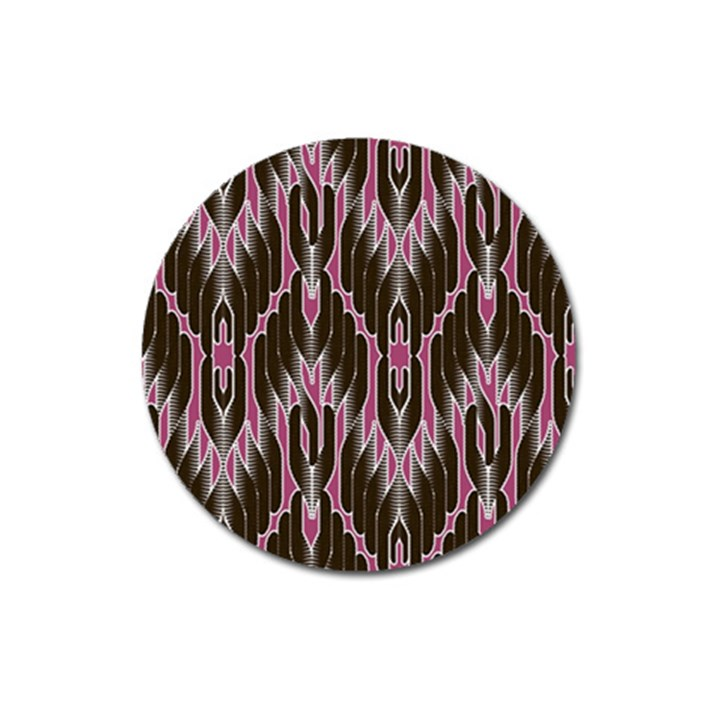 Pearly Pattern  Magnet 3  (Round)