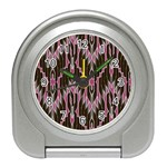 Pearly Pattern  Travel Alarm Clocks Front