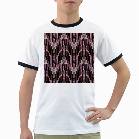 Pearly Pattern  Ringer T-Shirts