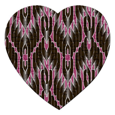 Pearly Pattern  Jigsaw Puzzle (Heart)
