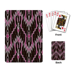 Pearly Pattern  Playing Card