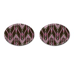Pearly Pattern  Cufflinks (Oval)