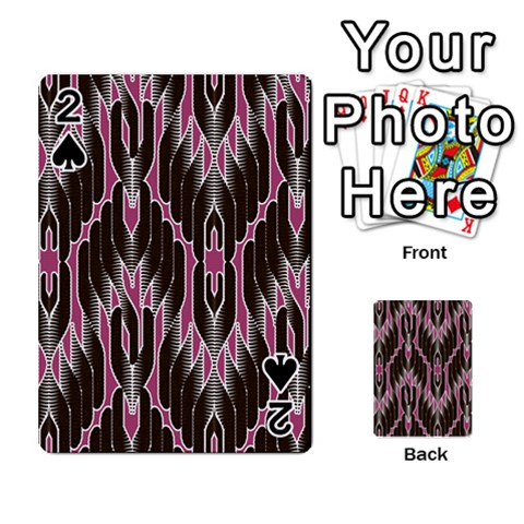 Pearly Pattern  Playing Cards 54 Designs