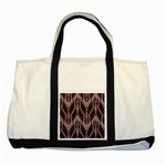 Pearly Pattern  Two Tone Tote Bag Front