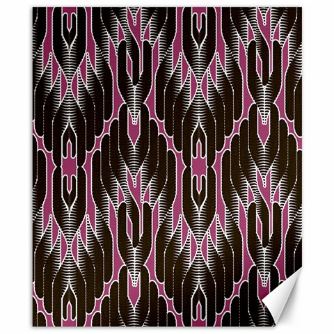 Pearly Pattern  Canvas 8  x 10