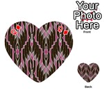 Pearly Pattern  Playing Cards 54 (Heart)  Front - DiamondQ