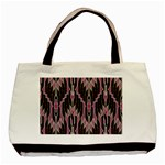 Pearly Pattern  Basic Tote Bag (Two Sides) Back
