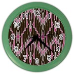 Pearly Pattern  Color Wall Clocks Front