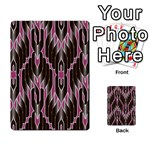 Pearly Pattern  Multi-purpose Cards (Rectangle)  Front 52