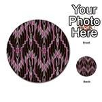Pearly Pattern  Multi-purpose Cards (Round)  Back 15