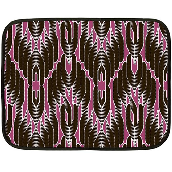Pearly Pattern  Double Sided Fleece Blanket (Mini)