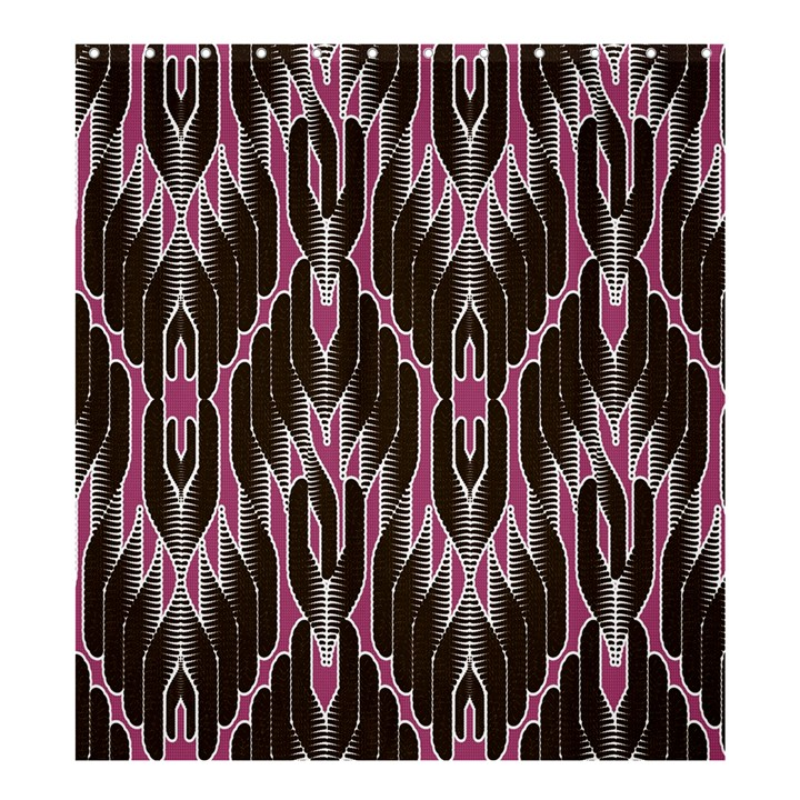 Pearly Pattern  Shower Curtain 66  x 72  (Large)