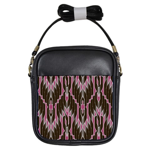Pearly Pattern  Girls Sling Bags