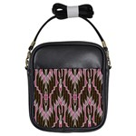 Pearly Pattern  Girls Sling Bags Front