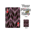 Pearly Pattern  Playing Cards 54 (Mini)  Front - Heart2