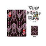 Pearly Pattern  Playing Cards 54 (Mini)  Front - Heart4