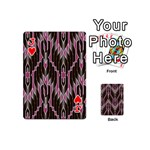 Pearly Pattern  Playing Cards 54 (Mini)  Front - HeartJ