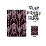 Pearly Pattern  Playing Cards 54 (Mini)  Front - Spade6